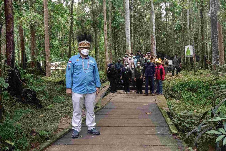 BBTNTC Mendampingi Kunjungan Kerja Wakil Menteri LHKdi Sorong, Papua Barat